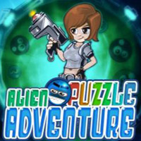 Game Box for Alien Puzzle Adventure (NDS)