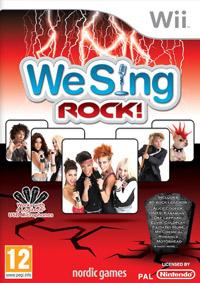 Okładka We Sing Rock! (Wii)