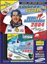 Okładka Skoki narciarskie 2004 (PC)