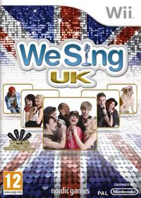 Okładka We Sing UK Hits (Wii)
