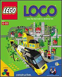 Okładka LEGO Loco (PC)