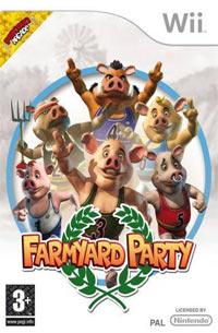 Okładka Farmyard Party: Featuring the Olympigs (Wii)