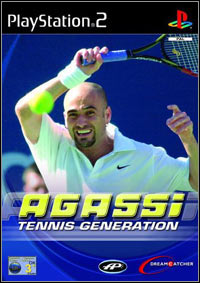 Agassi Tennis Generation (PS2 cover