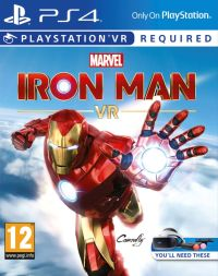 Game Box for Marvel's Iron Man VR (PS4)