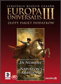 Okładka Europa Universalis III: In Nomine (PC)