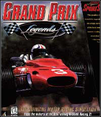 Okładka Grand Prix Legends (PC)