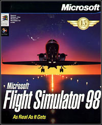 Game Box for Microsoft Flight Simulator 98 (PC)
