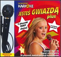 Okładka Domowe Karaoke: Jestes gwiazda PLUS (PC)