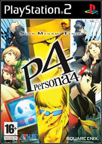 Game Box for Persona 4 (PS2)