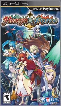Okładka Hexyz Force (PSP)