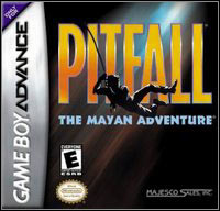 Game Pitfall: The Mayan Adventure (GBA) cover