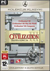 Okładka Sid Meier's Civilization III: Complete (PC)
