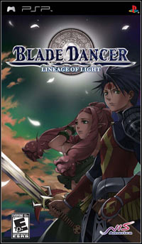 Okładka Blade Dancer: Lineage of Light (PSP)