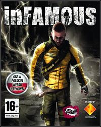 Okładka inFamous (PS3)