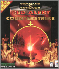 Game Box for Command & Conquer: Red Alert - Counterstrike (PC)