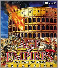 Okładka Age of Empires: The Rise of Rome (PC)