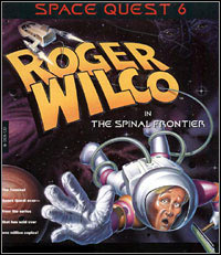 Okładka Space Quest VI: Roger Wilco in the Spinal Frontier (PC)