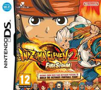 Game Inazuma Eleven 2: Firestorm (3DS) cover