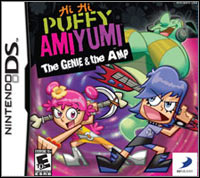 Game Box for Hi Hi Puffy AmiYumi: The Genie and the Amp (NDS)
