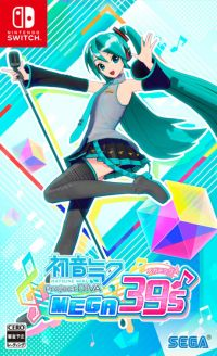 Okładka Hatsune Miku: Project Diva MegaMix (Switch)