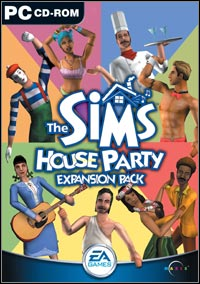 Okładka The Sims: House Party (PC)