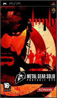 Okładka Metal Gear Solid: Portable Ops (PSP)
