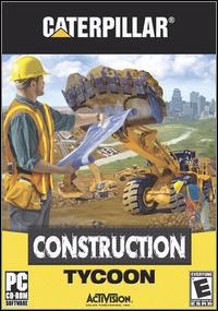 Okładka Caterpillar Construction Tycoon (PC)