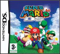 Okładka Super Mario 64 DS (NDS)