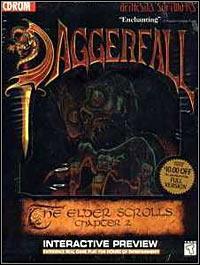 Game Box for The Elder Scrolls II: Daggerfall (PC)