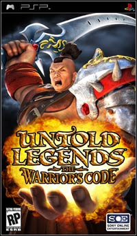 Okładka Untold Legends: The Warrior's Code (PSP)