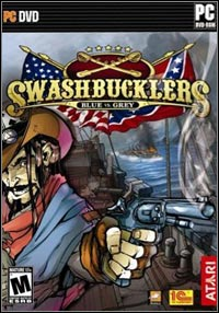 Okładka Swashbucklers: Blue & Grey (PC)