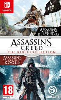 Okładka Assassin's Creed: The Rebel Collection (Switch)