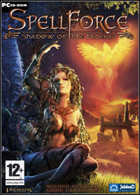 Game Box for SpellForce: Shadow of the Phoenix (PC)