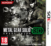 Game Box for Metal Gear Solid 3D: Snake Eater (3DS)