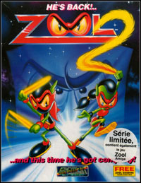 Game Box for Zool 2 (PC)