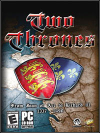 Okładka Two Thrones: From Joan D´Arc to Richard III (PC)