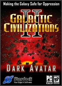 Okładka Galactic Civilizations II: Dark Avatar (PC)