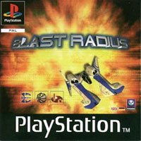 Okładka Blast Radius (PS1)