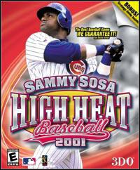 Okładka Sammy Sosa High Heat Baseball 2001 (PC)
