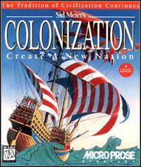 Okładka Sid Meier's Colonization (PC)