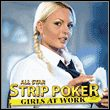 All Star Strip Poker: Girls at Work Miniature