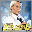 All Star Strip Poker: Girls at Work Miniature