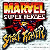 Marvel Super Heroes vs. Street Fighter (PS1)