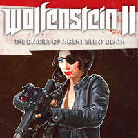Wolfenstein II: The New Colossus - The Diaries of Agent Silent Death (PS4)