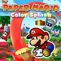 Paper Mario: Color Splash (WiiU)