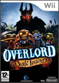 Okładka Overlord: Dark Legend (Wii)