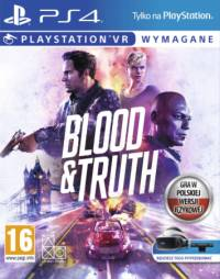 Okładka Blood & Truth (PS4)