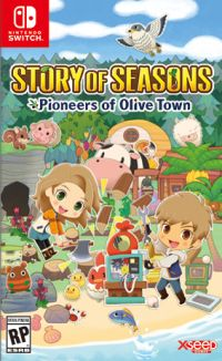 Game Box for Story of Seasons: Pioneers of Olive Town (Switch)