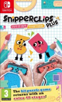 Game Box for Snipperclips: Cut It out, Together (Switch)