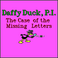 Okładka Daffy Duck, P.I.: The Case of the Missing Letters (PC)